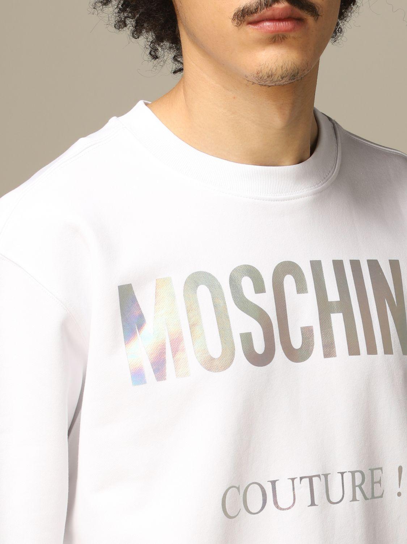 卫衣 Moschino Couture: 卫衣 男士 Moschino Couture 白色 3