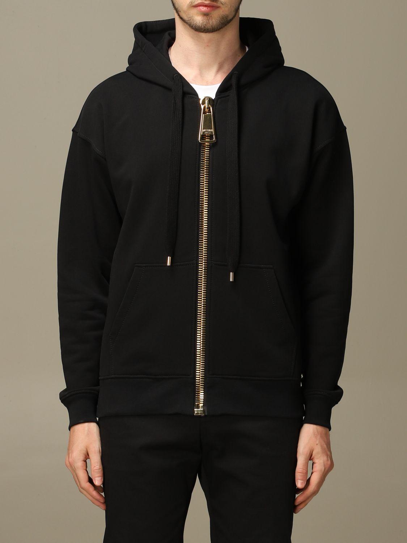 Sweatshirt Moschino Couture: Sweatshirt men Moschino Couture black 1