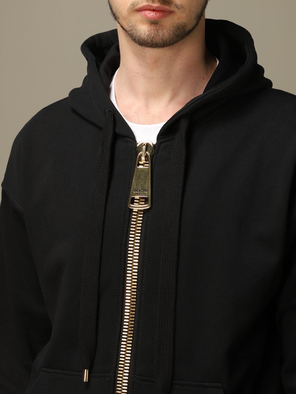 Sweatshirt Moschino Couture: Sweatshirt men Moschino Couture black 4
