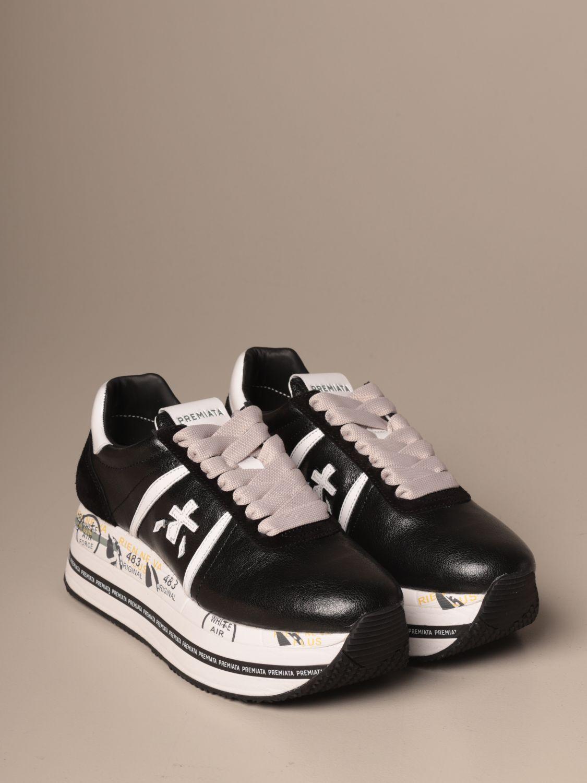 Sneakers Premiata: Schuhe damen Premiata schwarz 2