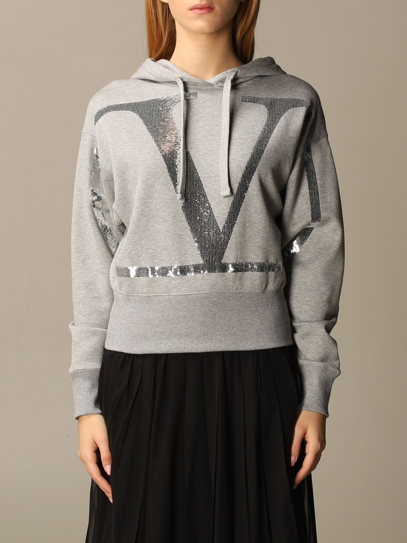 Sweatshirt Valentino: Sweatshirt damen Valentino grau 1