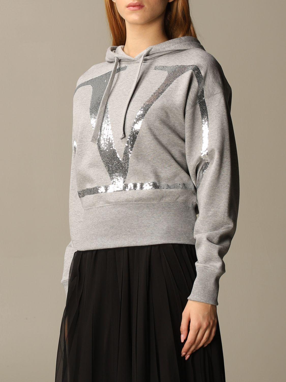 Sweatshirt Valentino: Sweatshirt damen Valentino grau 4