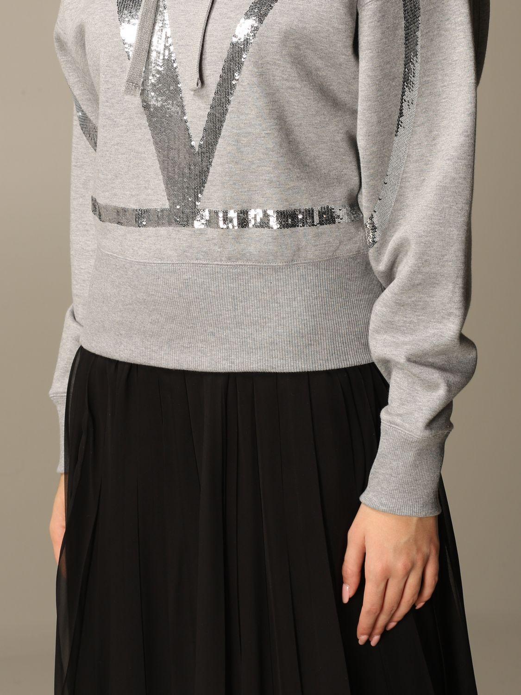 Sweatshirt Valentino: Sweatshirt damen Valentino grau 5