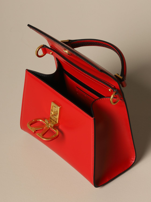 Handtasche Valentino Garavani: Schultertasche damen Valentino Garavani rot 4