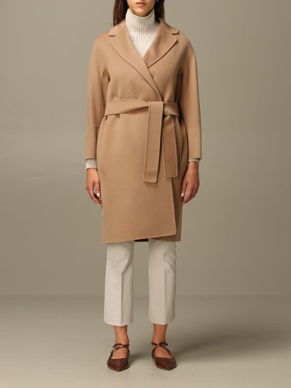 Coat S Max Mara: Coat women S Max Mara camel 1