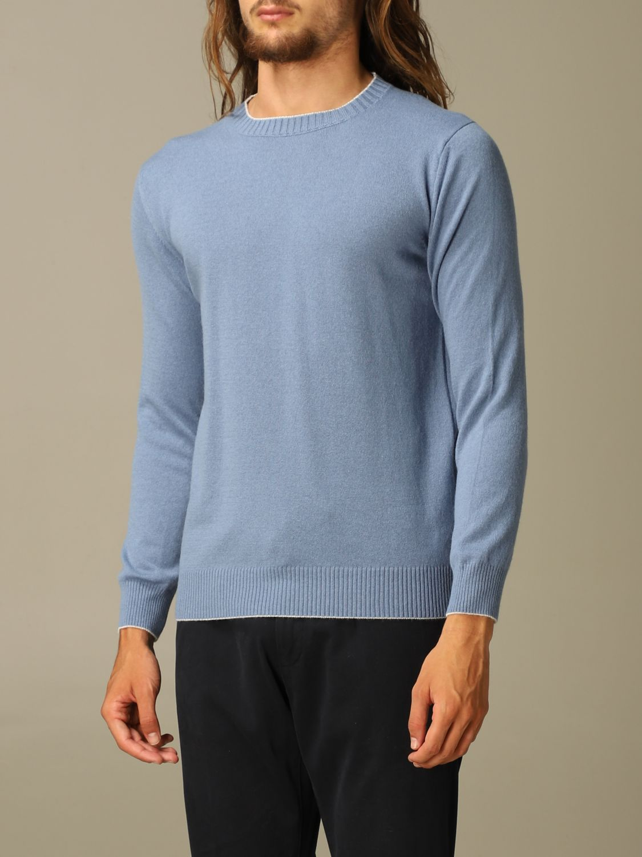 Pullover Eleventy: Pullover herren Eleventy hellblau 3