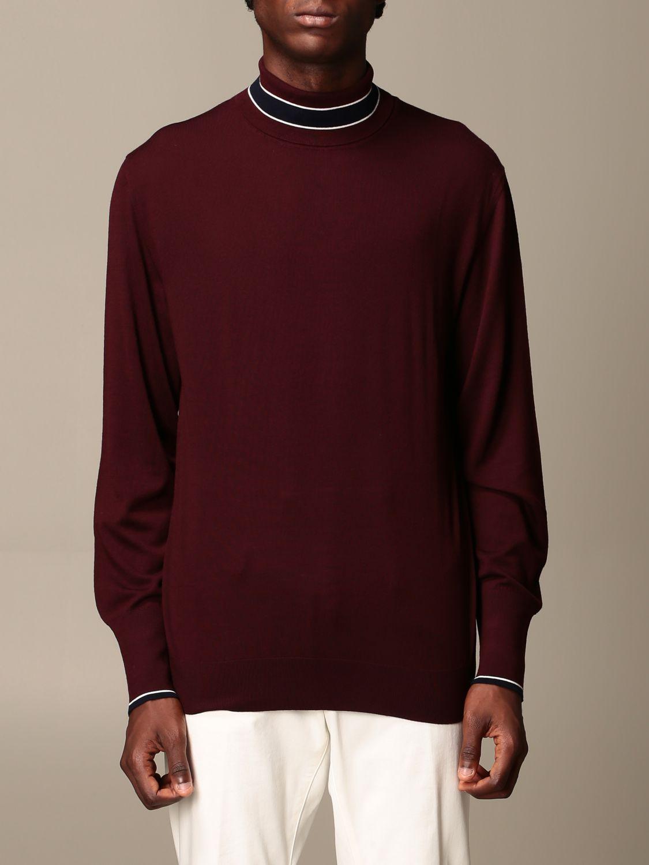 Pullover Eleventy: Pullover herren Eleventy blau 1