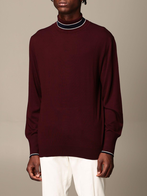 Pullover Eleventy: Pullover herren Eleventy blau 4