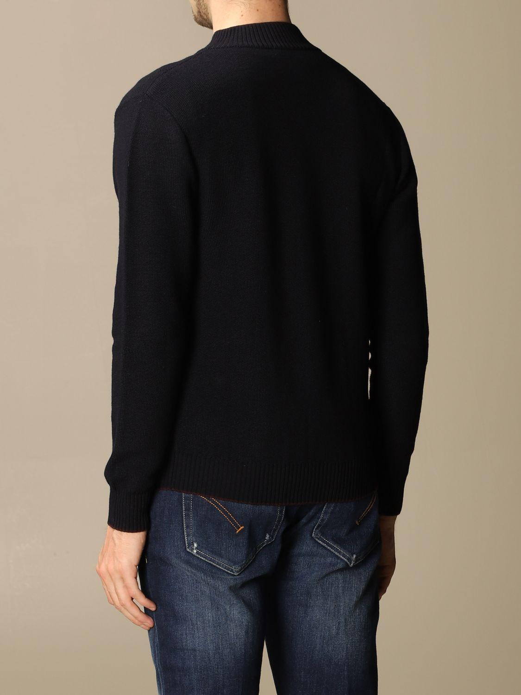 Pullover Eleventy: Pullover herren Eleventy blau 2