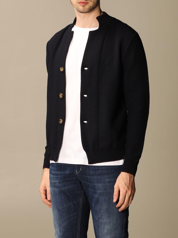 Pullover Eleventy: Pullover herren Eleventy blau 3