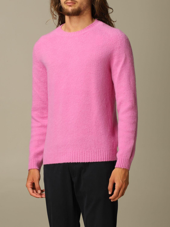 Pullover Eleventy: Pullover herren Eleventy pink 3
