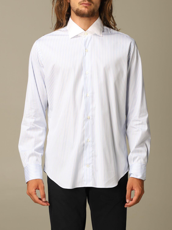 Shirt Eleventy: Shirt men Eleventy sky blue 1