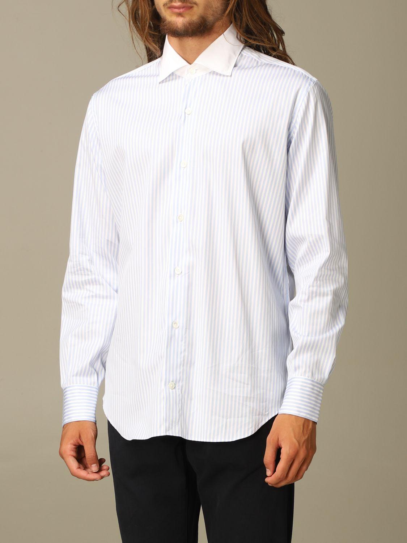 Shirt Eleventy: Shirt men Eleventy sky blue 3