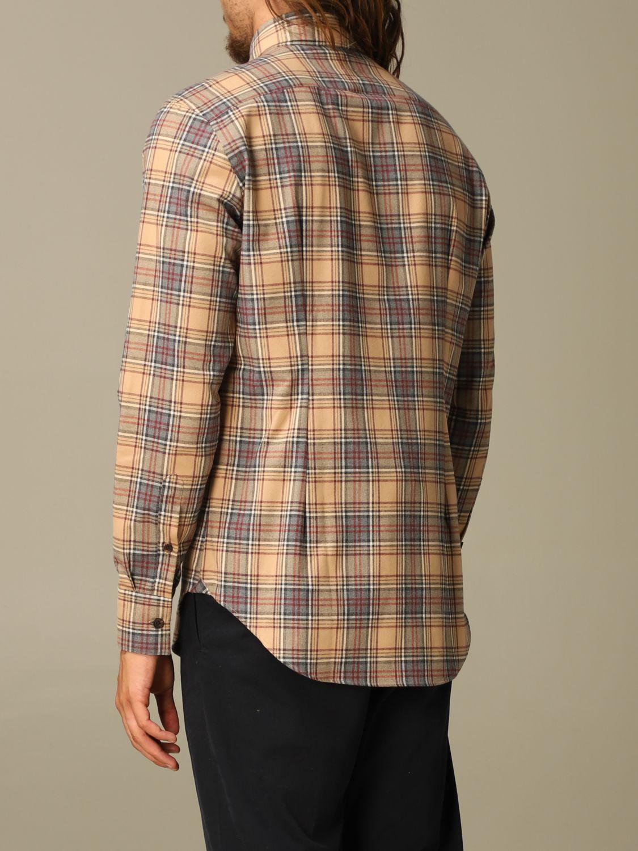 Shirt Eleventy: Shirt men Eleventy camel 2