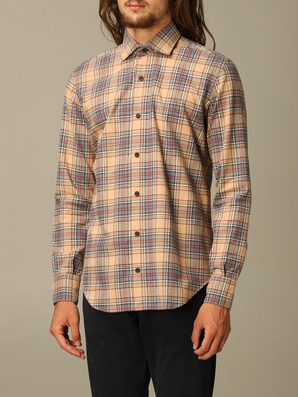 Shirt Eleventy: Shirt men Eleventy camel 3