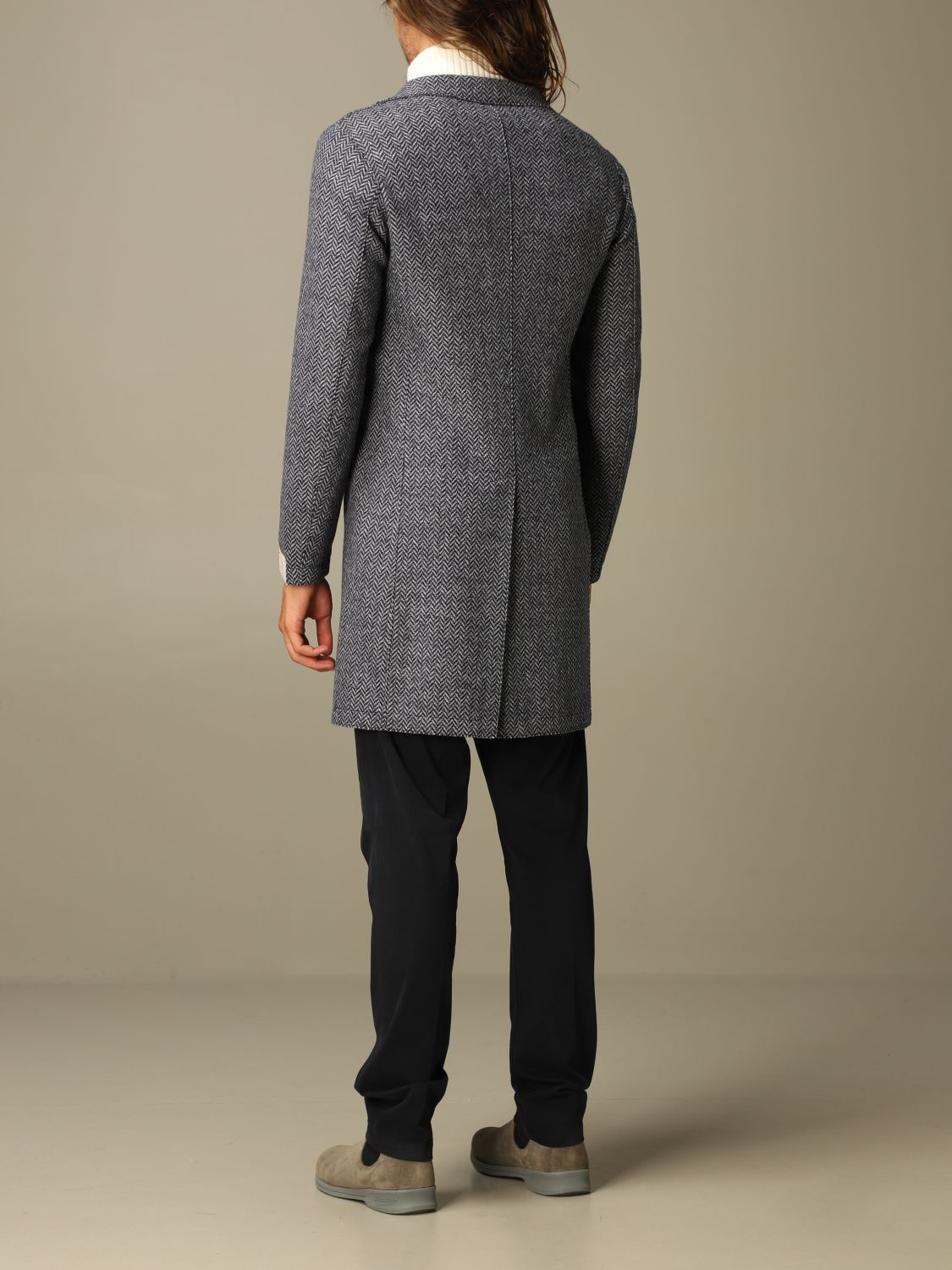 Coat Eleventy: Coat men Eleventy blue 2
