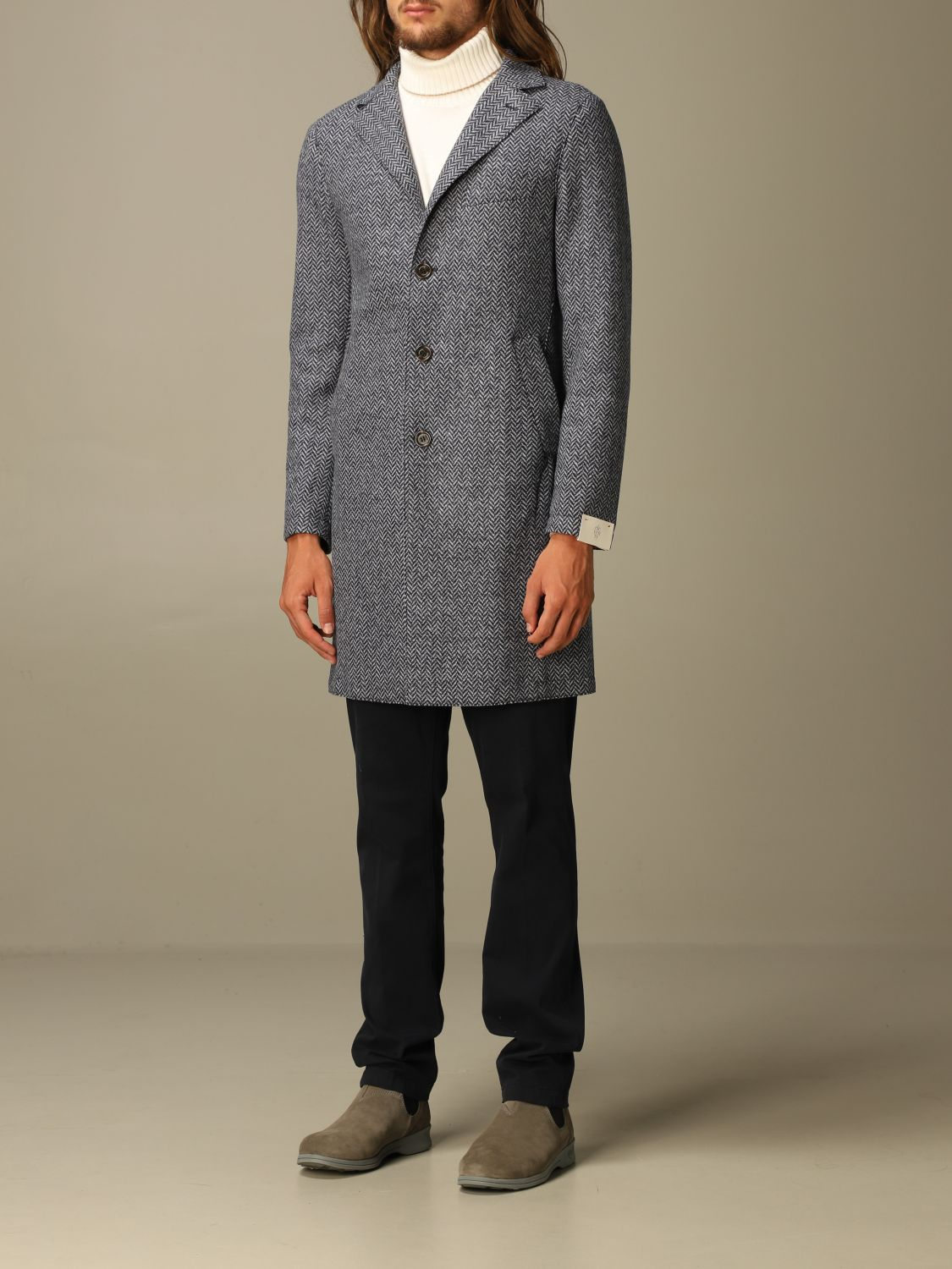 Coat Eleventy: Coat men Eleventy blue 3