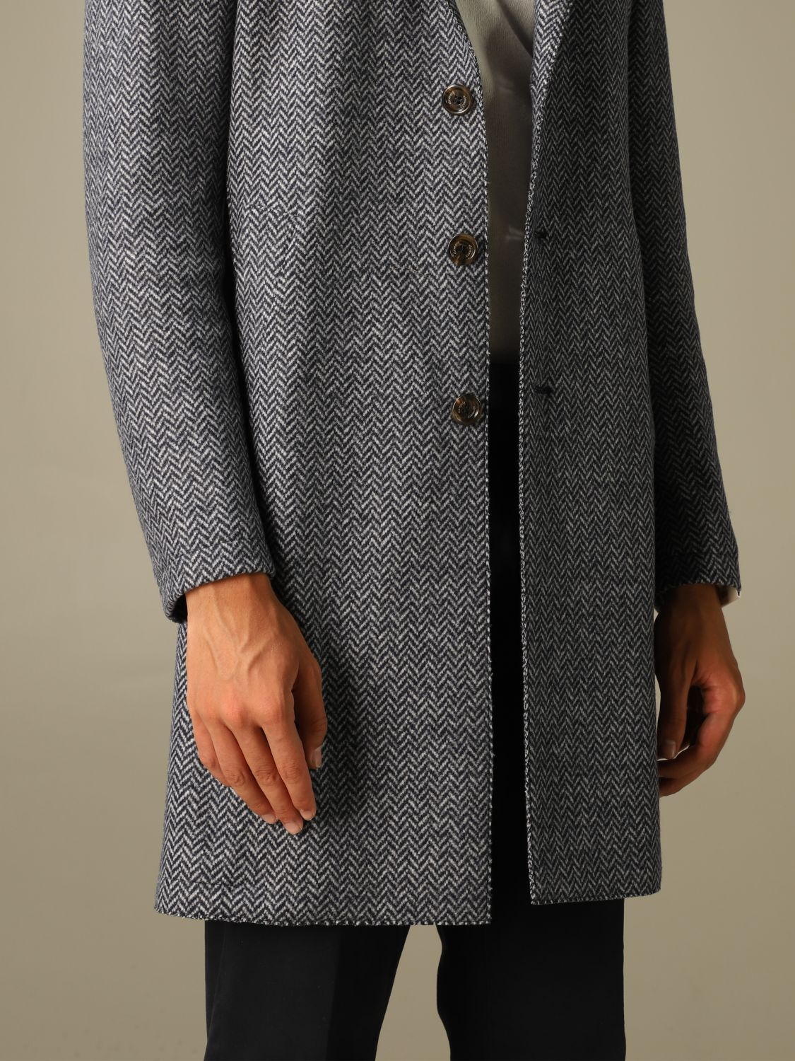 Coat Eleventy: Coat men Eleventy blue 4