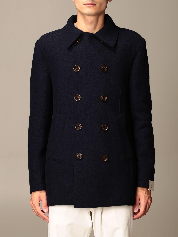 Coat Eleventy: Coat men Eleventy blue 1
