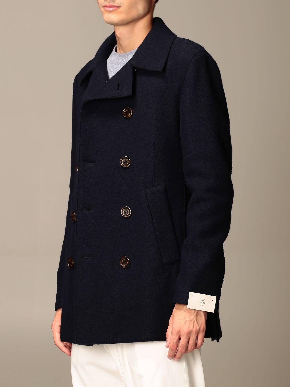 Coat Eleventy: Coat men Eleventy blue 3