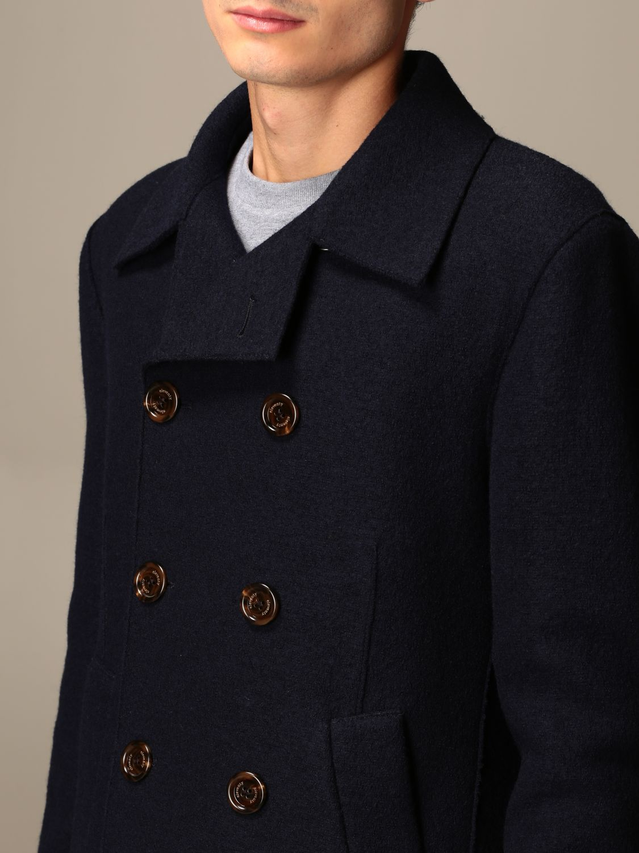 Coat Eleventy: Coat men Eleventy blue 4