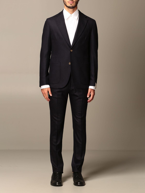 Suit Eleventy: Suit men Eleventy blue 1