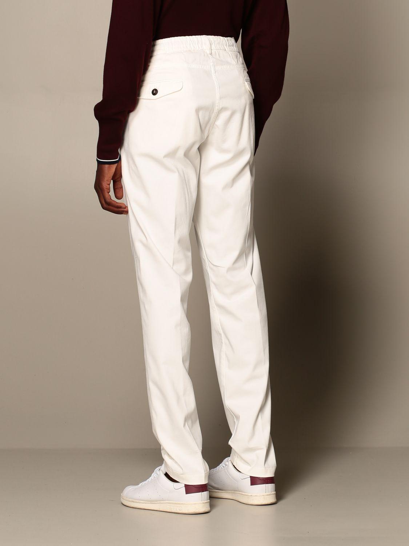 Pants Eleventy: Pants men Eleventy yellow cream 2