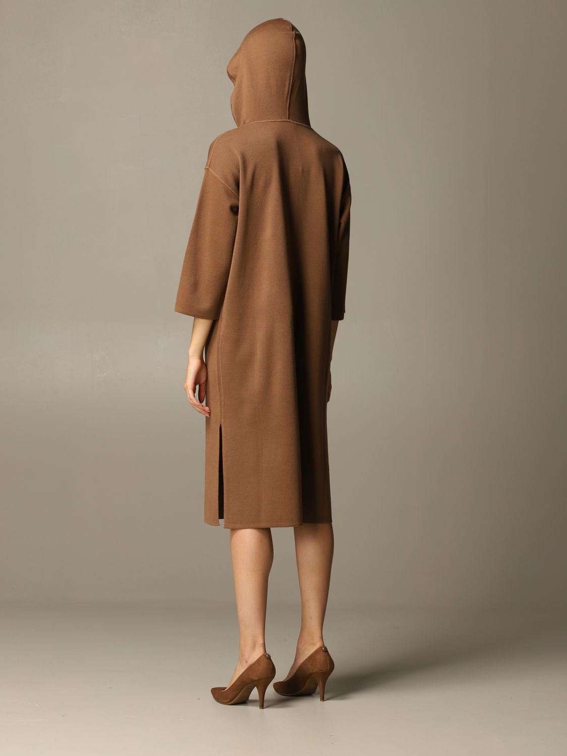 Dress Max Mara: Dress women Max Mara tobacco 2