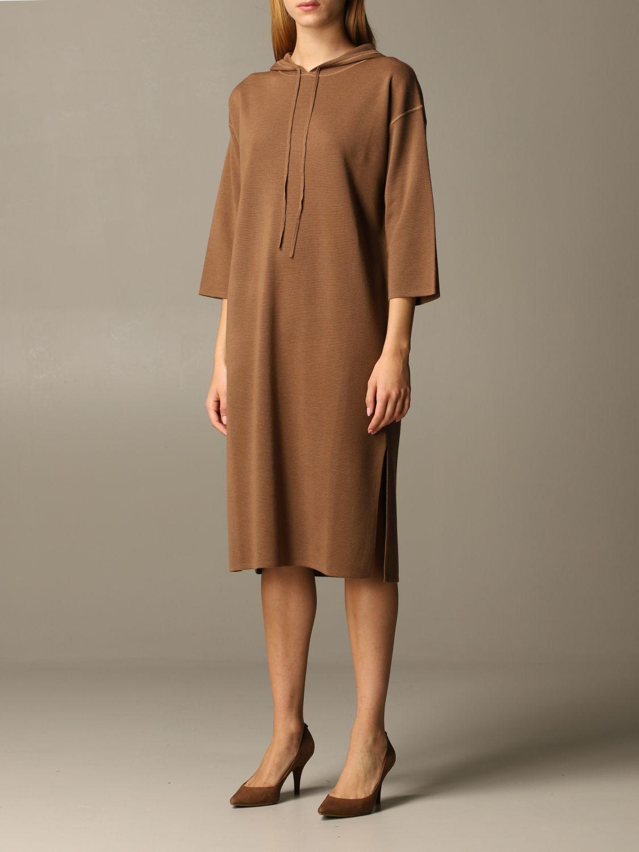 Платье Max Mara: Платье Женское Max Mara табачный 3