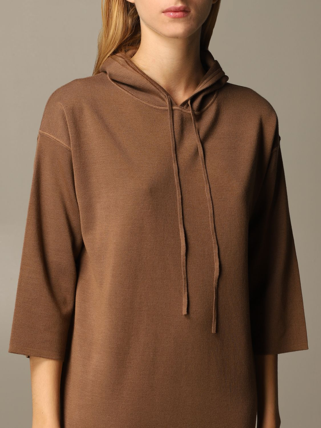 Dress Max Mara: Dress women Max Mara tobacco 4