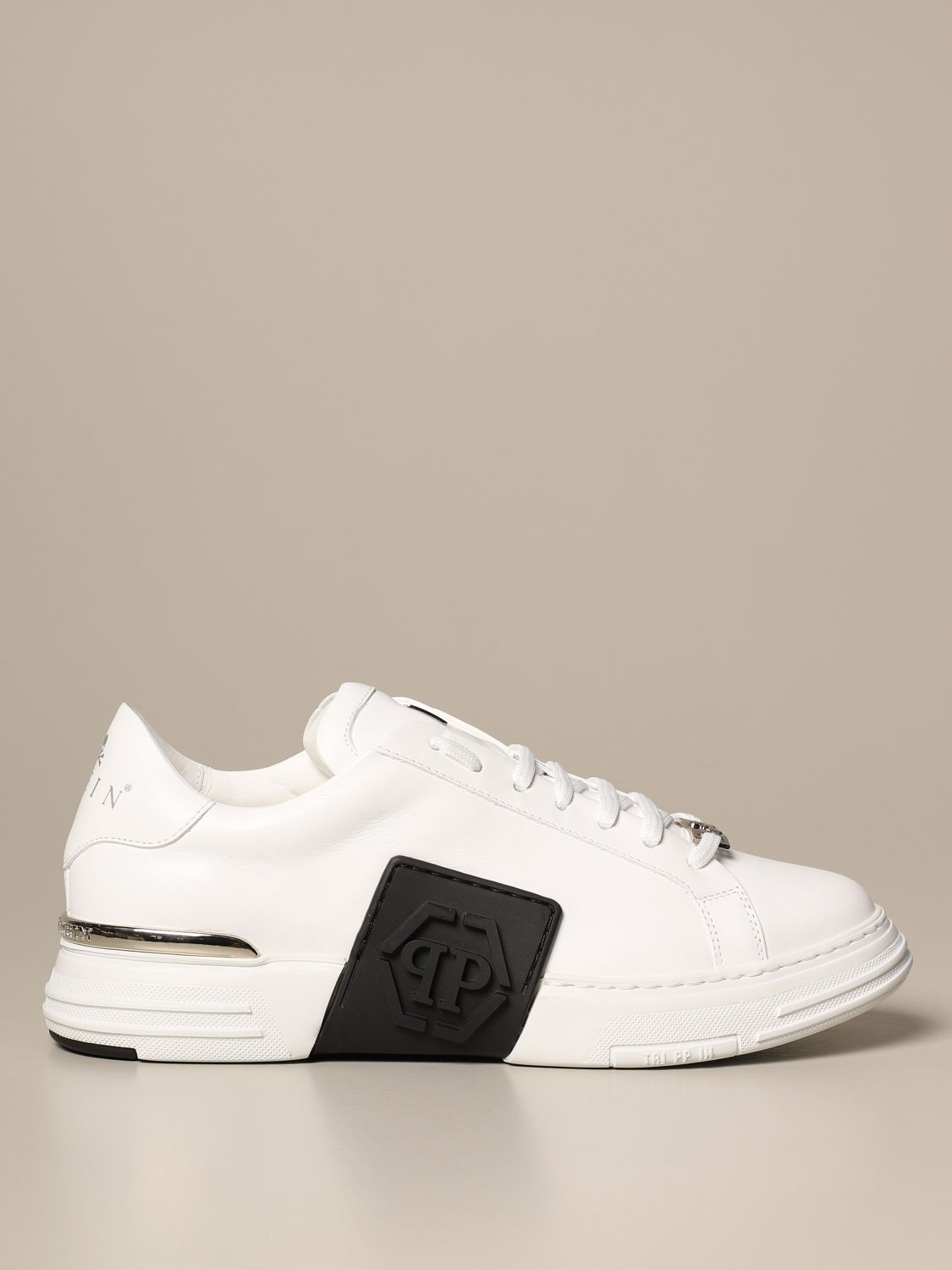 Philipp Plein leather sneakers in with