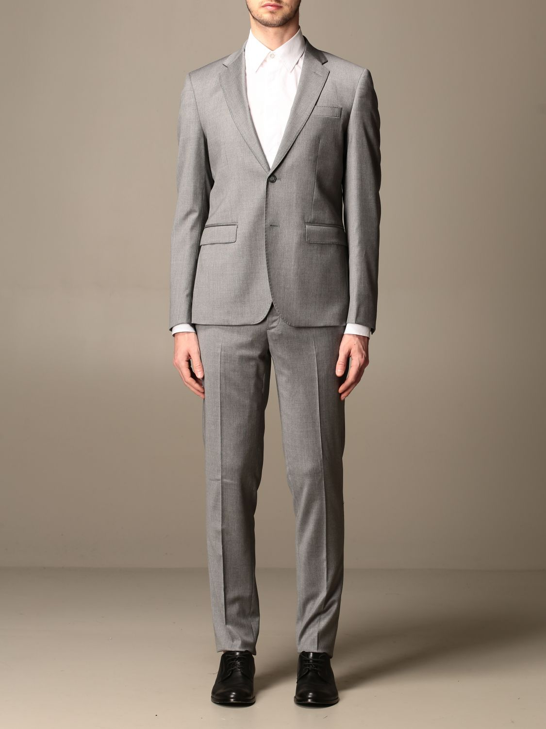 Suit Brian Dales: Brian Dales slim fit single-breasted suit charcoal 1