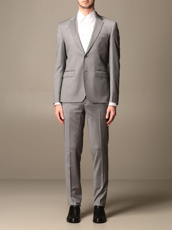 Suit Brian Dales: Suit men Brian Dales charcoal 1