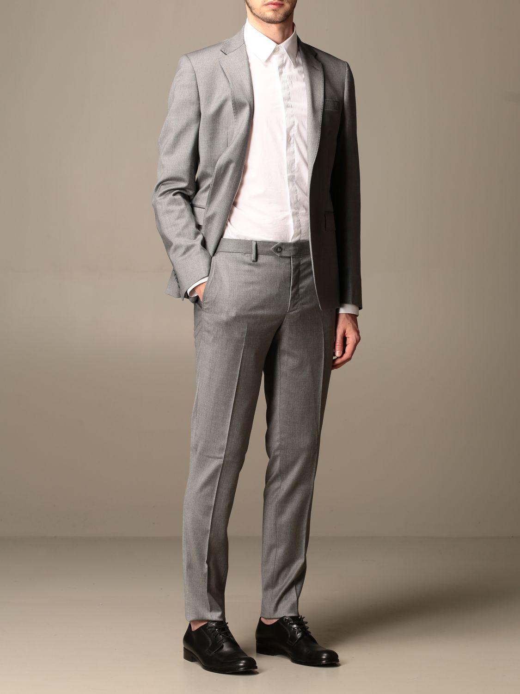 Suit Brian Dales: Suit men Brian Dales charcoal 2