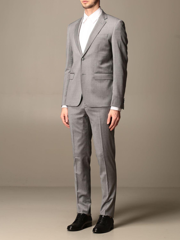 Suit Brian Dales: Suit men Brian Dales charcoal 4