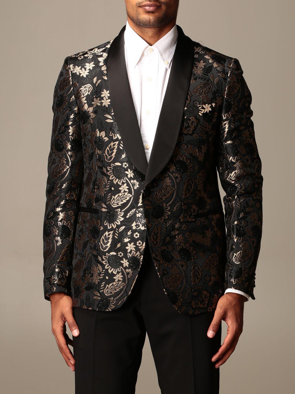 Blazer Brian Dales: Blazer men Brian Dales black 1