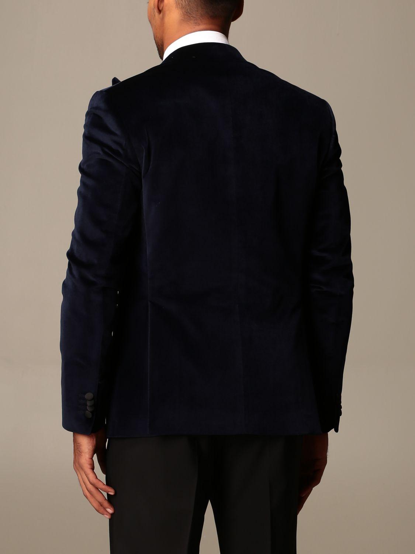 Blazer Brian Dales: Blazer homme Brian Dales bleu 2