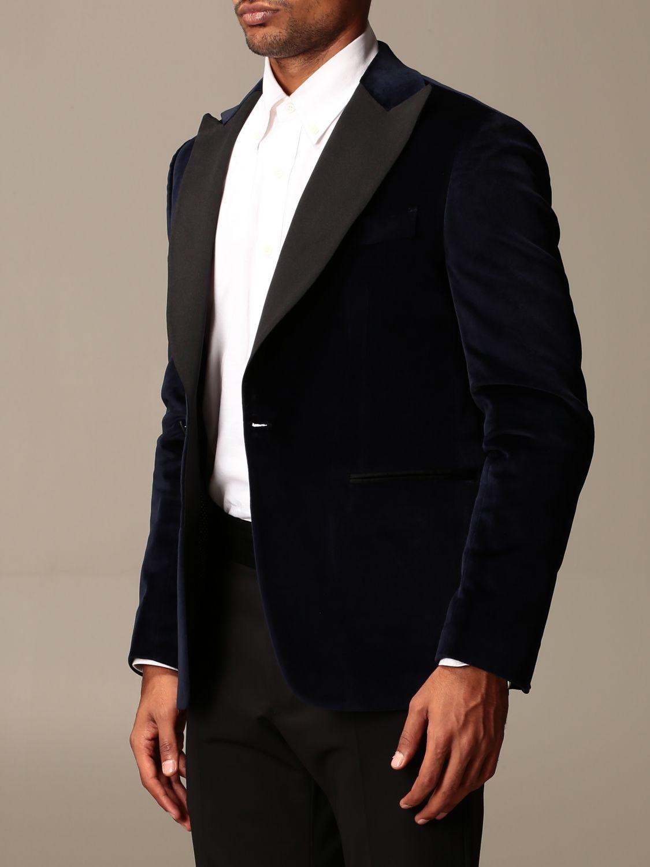 Blazer Brian Dales: Blazer homme Brian Dales bleu 3