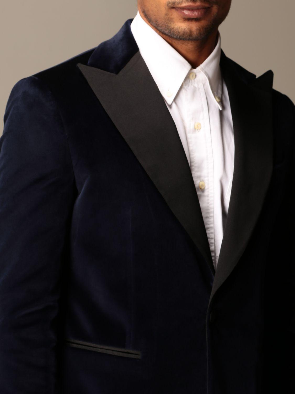 Blazer Brian Dales: Blazer homme Brian Dales bleu 4