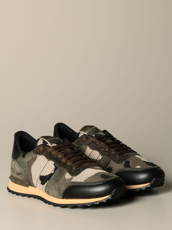 Sneakers Valentino Garavani: Sneakers Rock runner Valentino Garavani camouflage militare 2