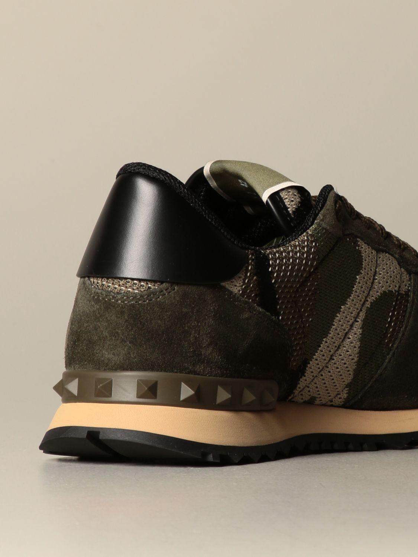 Sneakers Valentino Garavani: Sneakers Rock runner Valentino Garavani camouflage militare 3