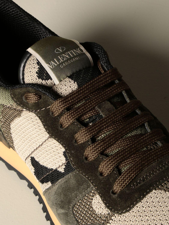 Sneakers Valentino Garavani: Sneakers Rock runner Valentino Garavani camouflage militare 4