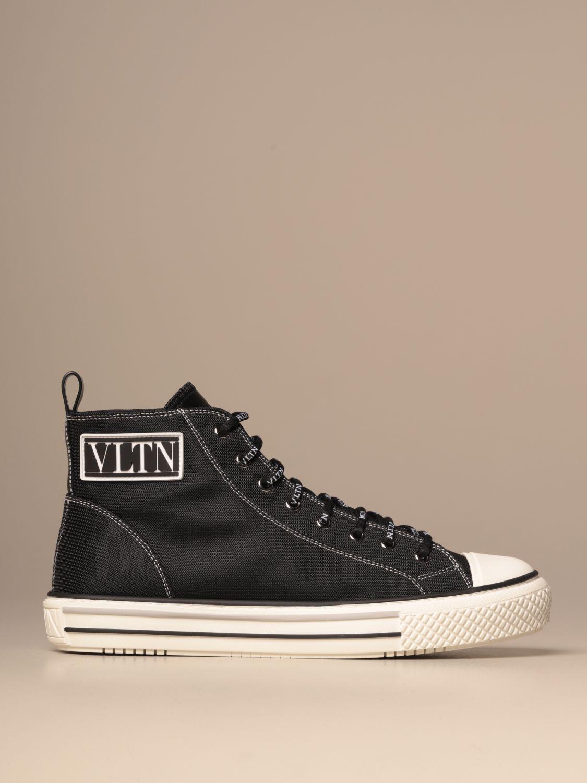 Sneakers Valentino Garavani: Giggies ankle boots Valentino Garavani in canvas with VLTN logo black 1