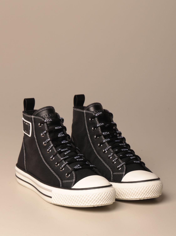 Sneakers Valentino Garavani: Giggies ankle boots Valentino Garavani in canvas with VLTN logo black 2