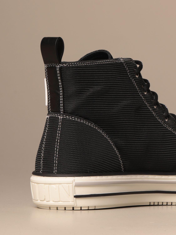 Sneakers Valentino Garavani: Giggies ankle boots Valentino Garavani in canvas with VLTN logo black 3