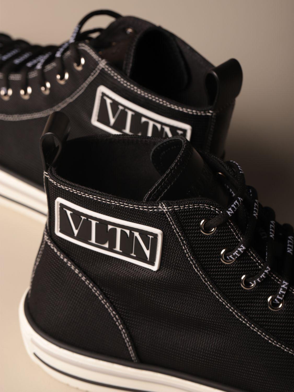 Sneakers Valentino Garavani: Giggies ankle boots Valentino Garavani in canvas with VLTN logo black 4