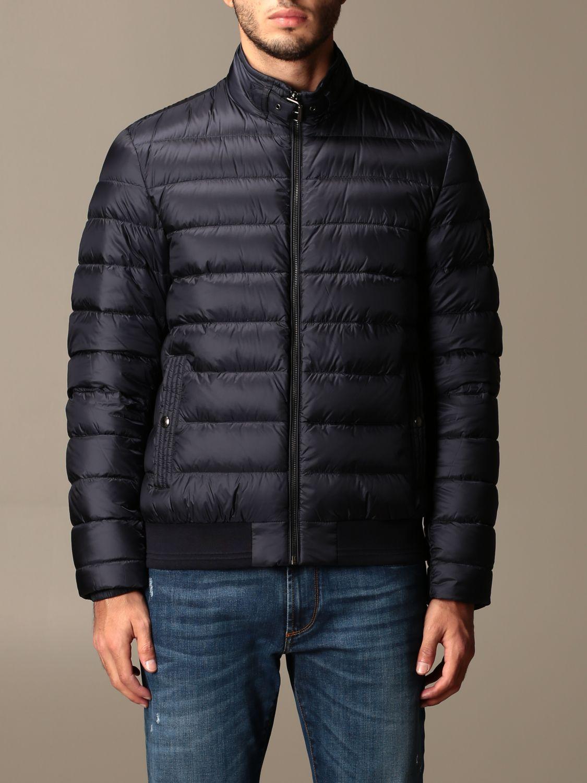 Куртка Belstaff: Куртка Мужское Belstaff синий 1