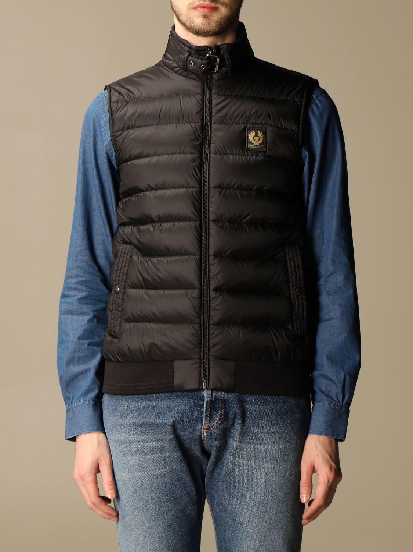 Suit vest Belstaff: Circuit vest with Belstaff down jacket in nylon black 1