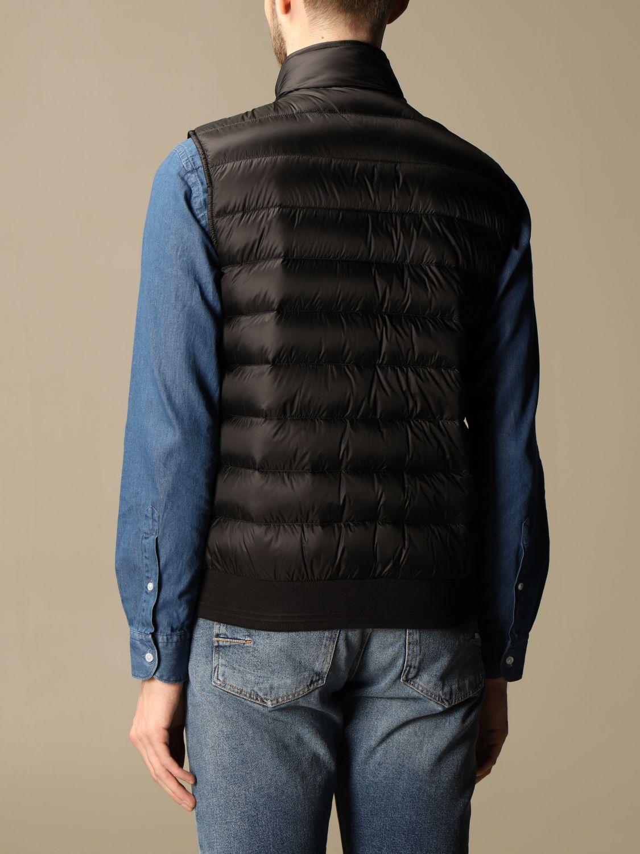 Suit vest Belstaff: Circuit vest with Belstaff down jacket in nylon black 2
