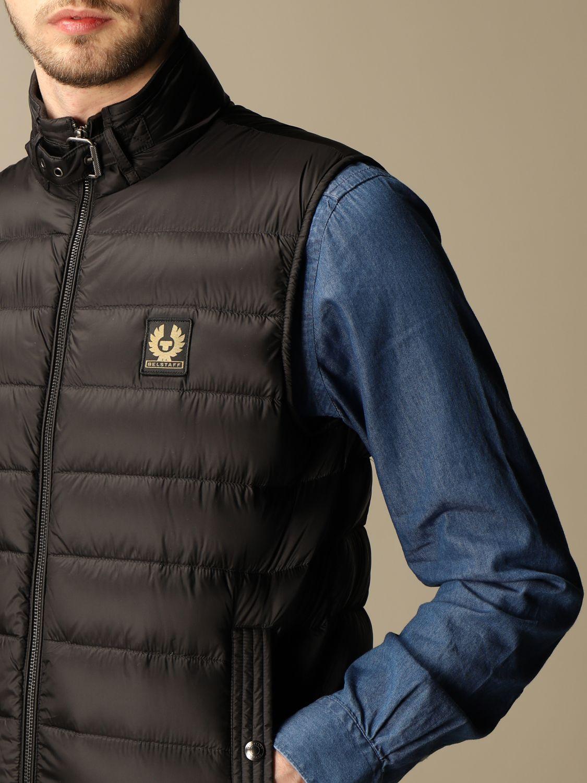 Suit vest Belstaff: Circuit vest with Belstaff down jacket in nylon black 4